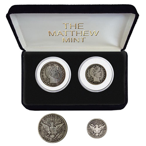 2-Piece Barber Coin Collection