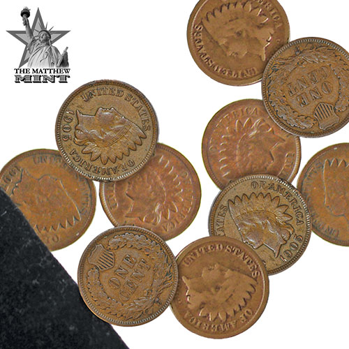 '10-Piec Indian Head Penny Set'