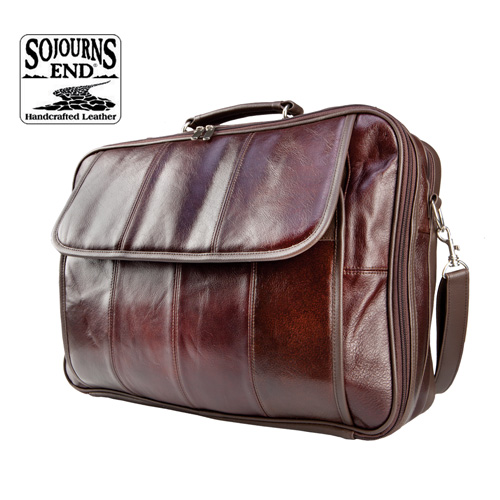 'Genuine Cowhide Briefcase'