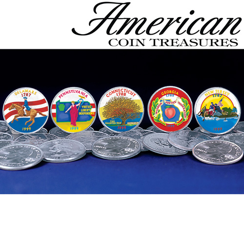 'Color State Quarters'