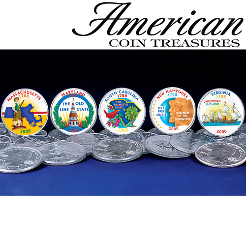 Color State Quarters