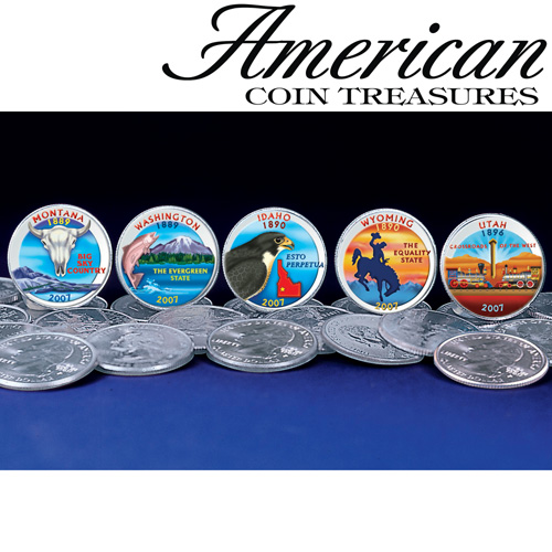 '2007 Color State Quarters'