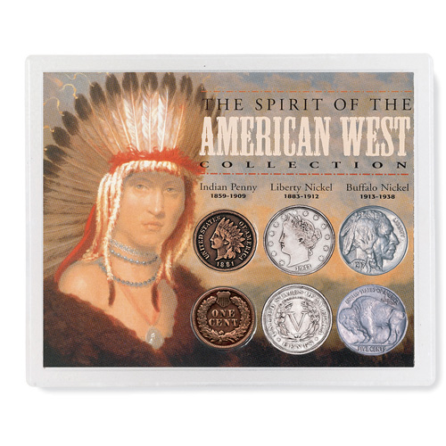 'Spirit of the American West Coin Collection'