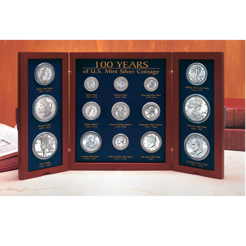 '100 Years of U.S. Mint Coin Designs'