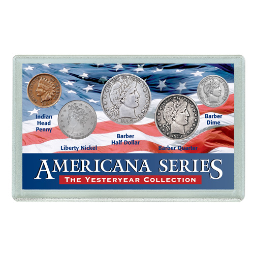 'Americana Yesteryear Coin Set'