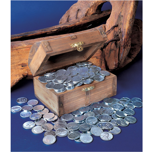 'Treasure Chest of 1943 Lincoln Steel Pennies'