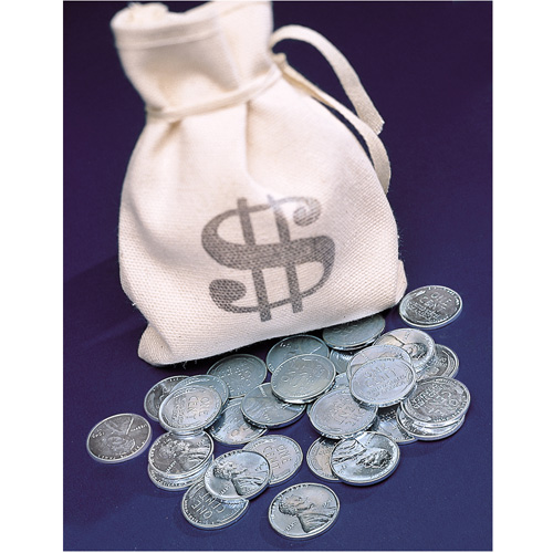 'Bankers Bag of 1943 Lincoln Steel Pennies'