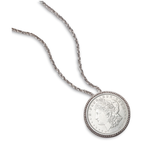 'Morgan Silver Dollar Pin/Pendant'