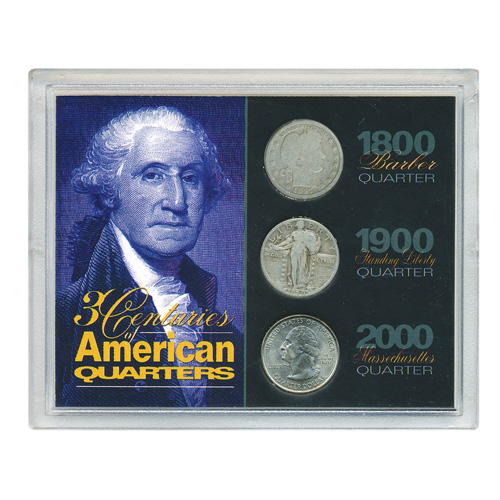 '3 Centuries of American Quarters'