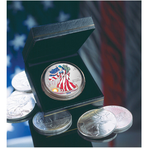 2000 Colorized American Silver Eagle