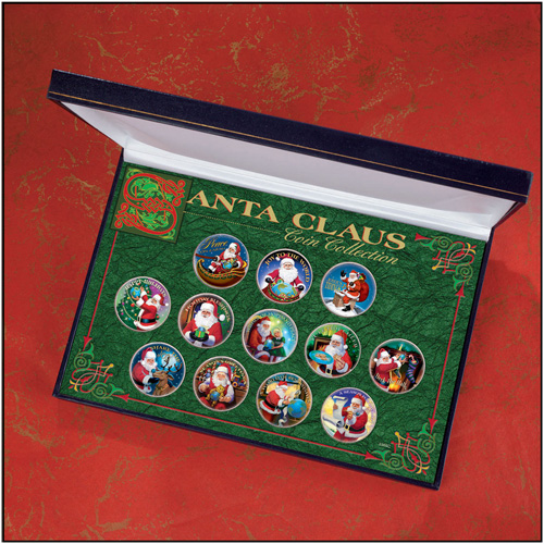 'Santa Claus Coin Collection'