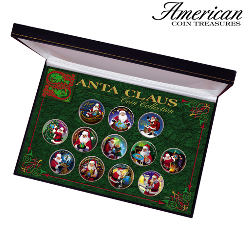 'Santa Clause Coin Collection'