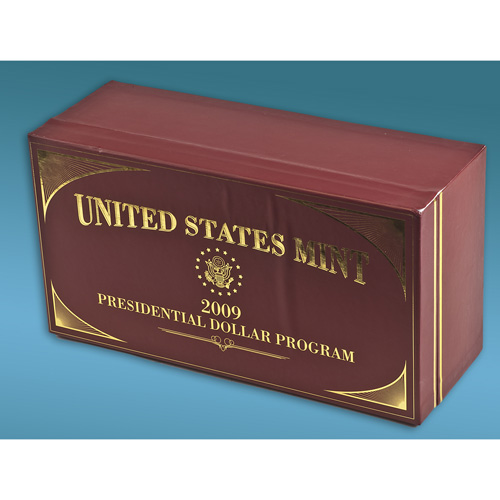 '2009 Graded Presidential Dollar Case'