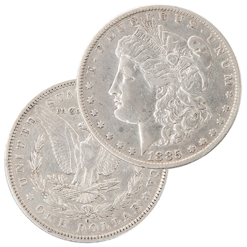 Wild West Morgan Silver Dollar