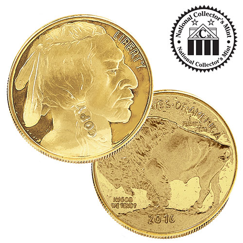 2016 $50 Gold Buffalo Tribute Proof