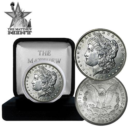 '1894-O Morgan Silver Dollar'