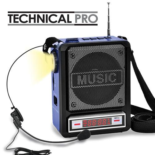 Technical Pro Battery Powered Speaker