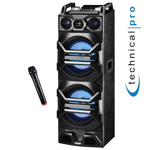 Technical Pro Speaker with Mic