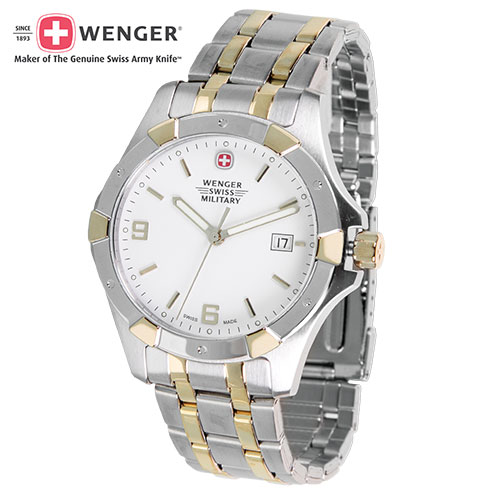 Wenger Alpine 2 Tone Watch