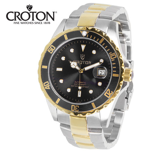 Croton 2-Tone Watch
