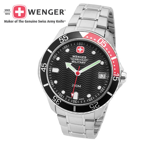 'Wenger Military Diver Watch'