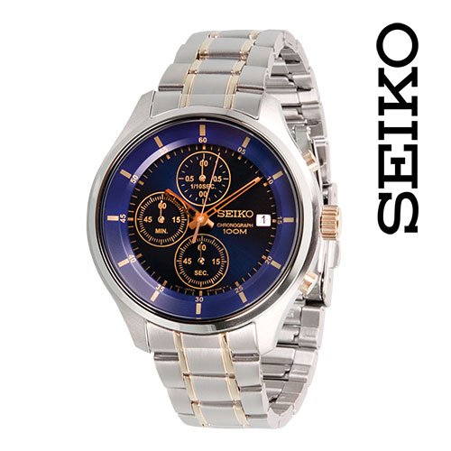 Seiko Blue Dial Watch