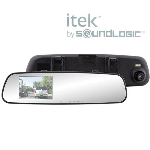720P Rearview Mirror HD Dash Camera