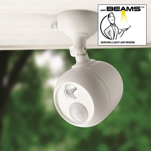 'Mr. Beams Motion Activated Security Spotlight'