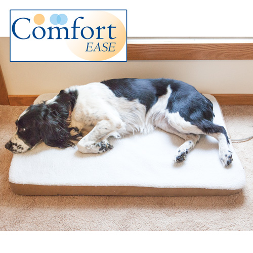 Comfort Ease Heated Pet Bed