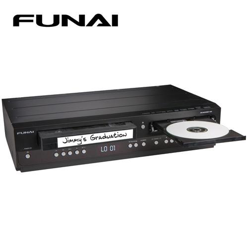 'Funai DVD Recorder/VCR Combo'