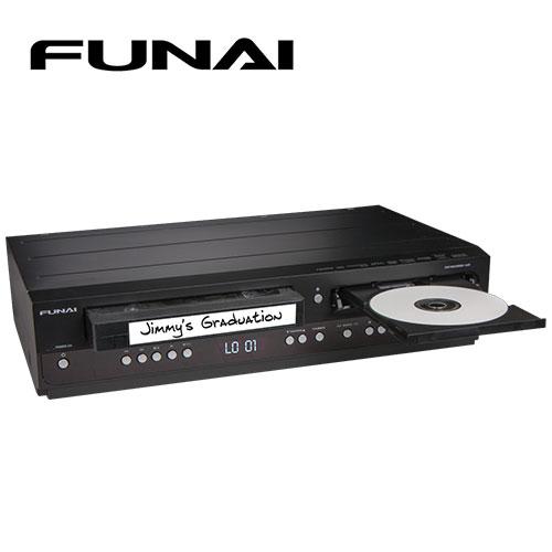 Funai DVD Recorder/VCR Combo