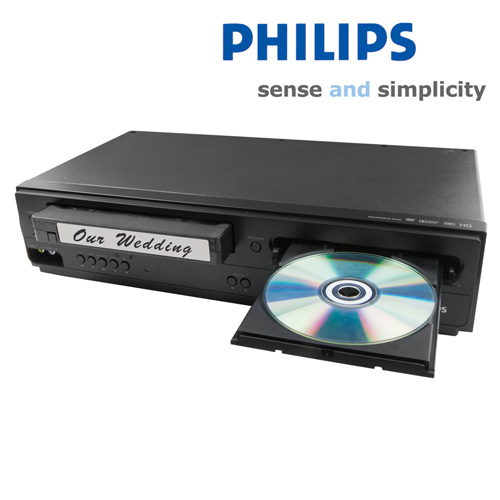 'Philips DVD/VCR Combo'