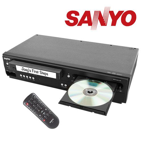 'Sanyo - DVD/VCR Combo'