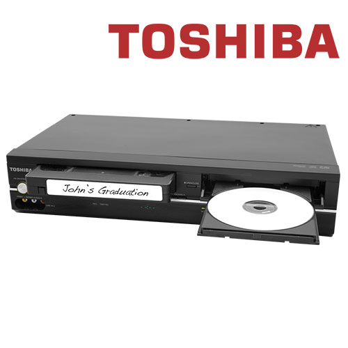 'Toshiba DVD with VCR Combo'