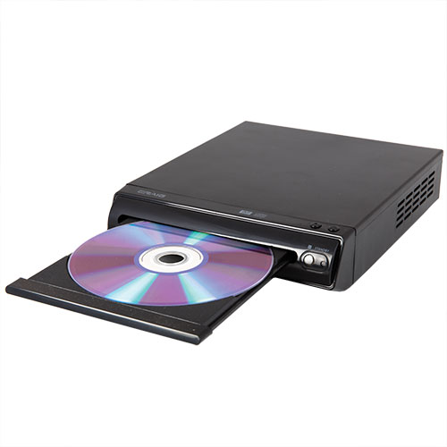 iCraig Compact DVD Player with Remote