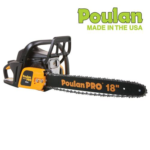 'Poulan Gas Chainsaw - 18 inch'
