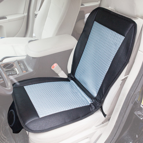 mobile lifestyles cooling car seat cushion ebay. Black Bedroom Furniture Sets. Home Design Ideas