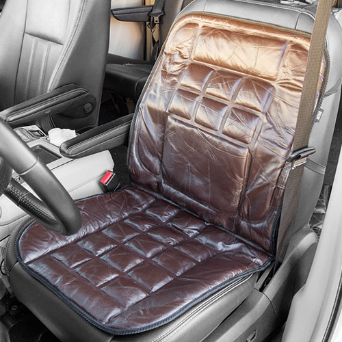 'Leather Car Seat Cushion'