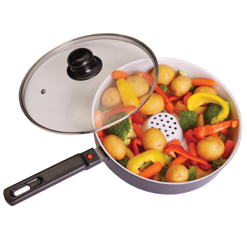 Ceramic Deep Fry Cooker