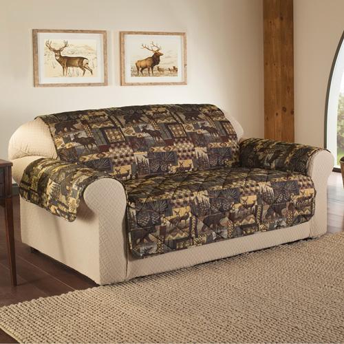Lodge Print Furniture Protector - Sofa