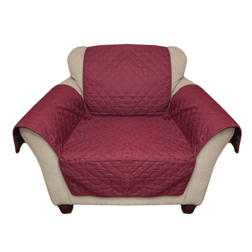'Burgundy Reverse Chair Cover'