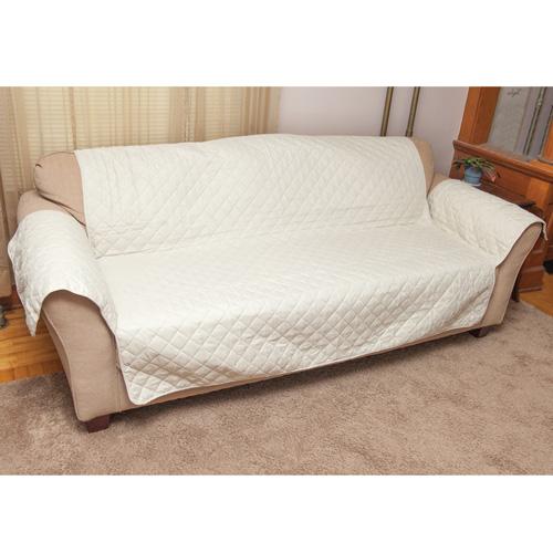 Reversible Sofa Cover - Tan