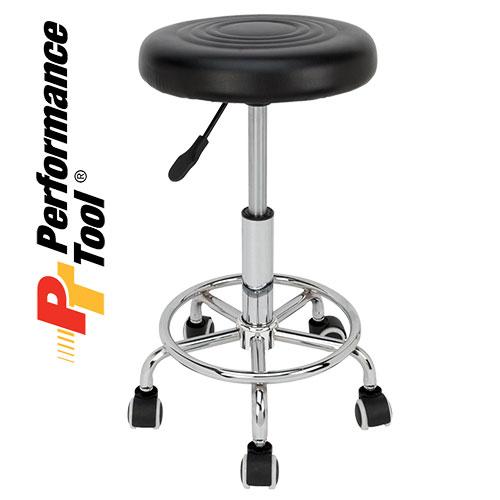 'Pneumatic Rolling Bar Stool'