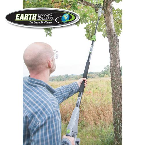 'Earthwise 18V Convertible Polesaw'