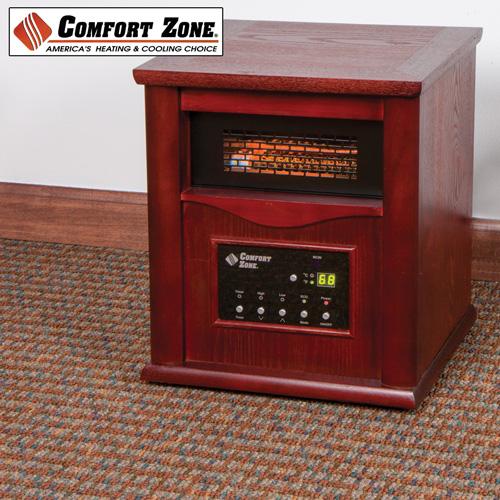 'Comfort Zone Deluxe Infrared Cabinet Heater'
