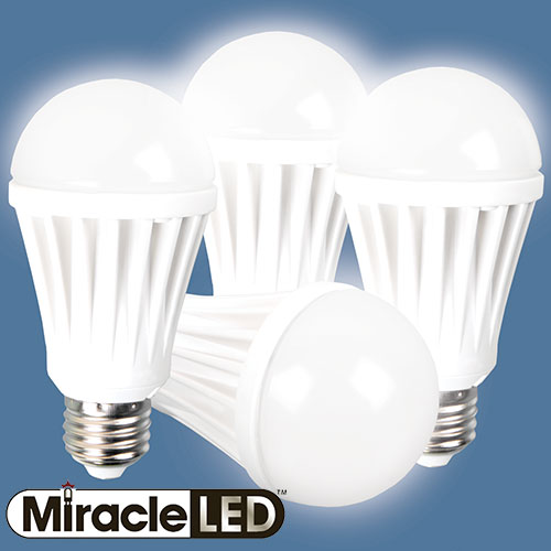 Miracle LED 60W Bulbs - 4 Pack