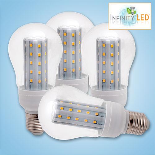 'Infinity 4PK Warm White LED Lightbulbs'