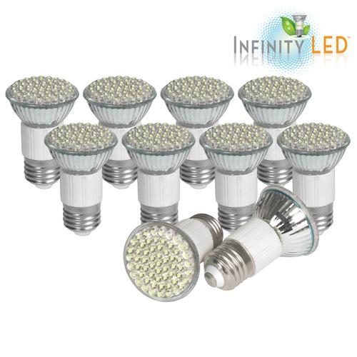 '10 Pack of Ultra LED Bulbs - Cool'