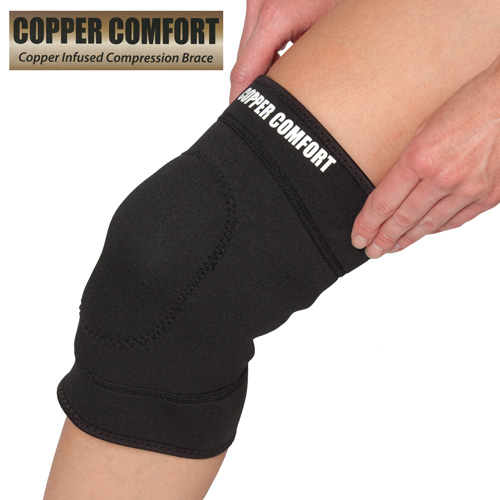 'Copper Infused Knee Wrap'