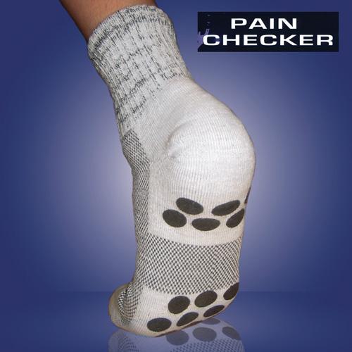 'Pain Checker Slipper Socks'